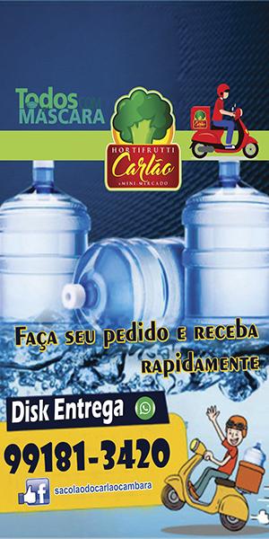 sacolao carlão agua