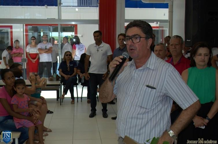 Album Inauguração centro Educacional Infantil Claudia Helena Negrão Batista