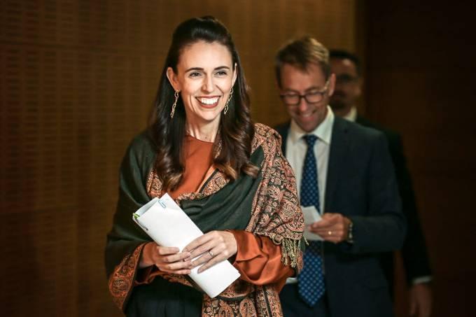 Jacinda Ardern - primeira-ministra da Nova Zelândia