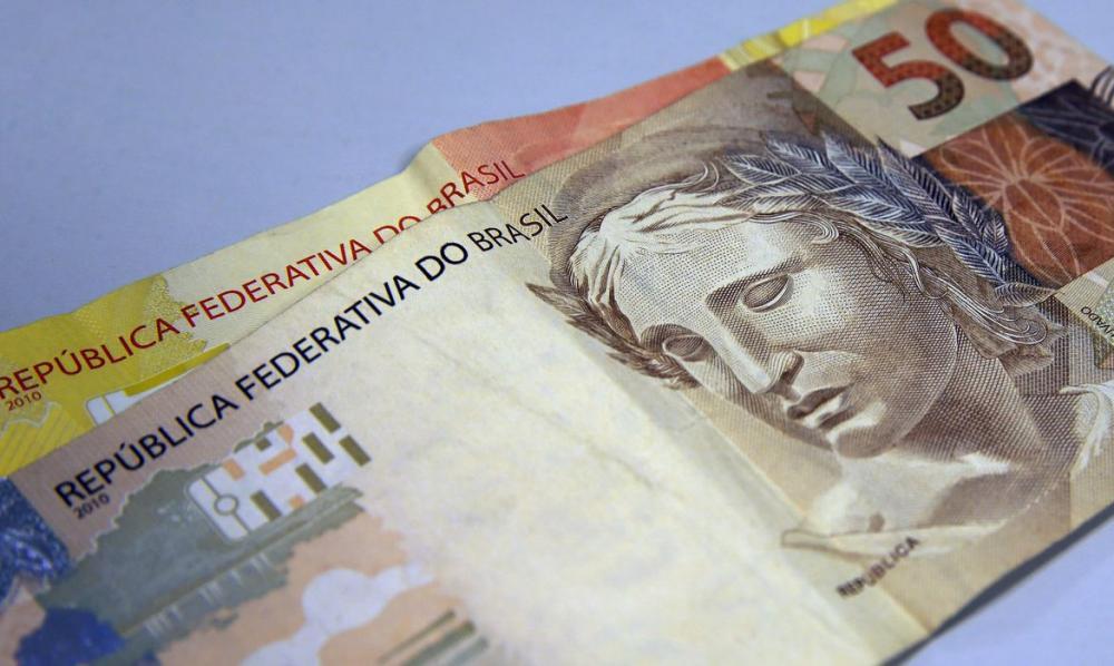 Moeda Nacional, Real, Dinheiro, notas de real / Foto: Marcelo Casal Jr./Agência Brasil